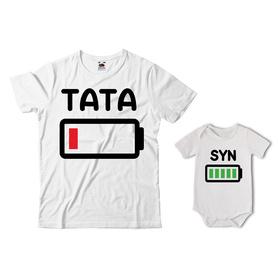 Komplet koszulka dla Taty + body 02