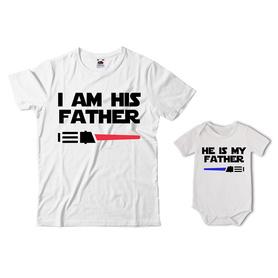 Komplet koszulka dla Taty + body 03