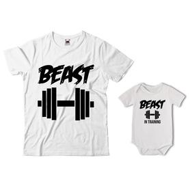 Komplet koszulka dla Taty + body 05
