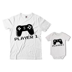 Komplet koszulka dla Taty + body 07