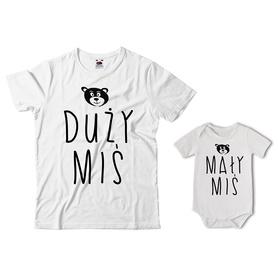 Komplet koszulka dla Taty + body 08