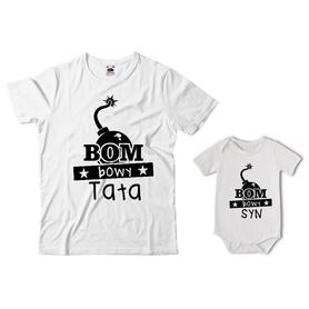 Komplet koszulka dla Taty + body 19