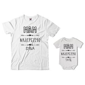 Komplet koszulka dla Taty + body 24