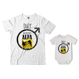 Komplet koszulka dla Taty + body 25
