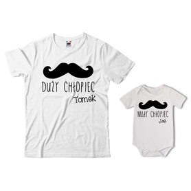 Komplet koszulka dla Taty + body 28