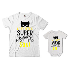 Komplet koszulka dla Taty + body 32