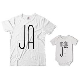 Komplet koszulka dla Taty + body 35