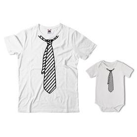 Komplet koszulka dla Taty + body 36