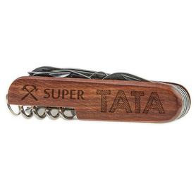 Scyzoryk drewniany dla Taty 02