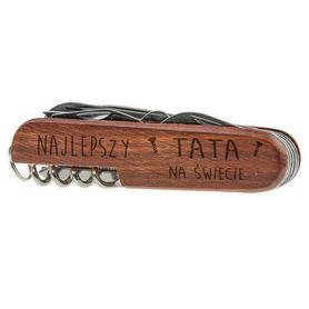Scyzoryk drewniany dla Taty 03