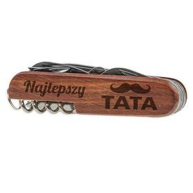 Scyzoryk drewniany dla Taty 05
