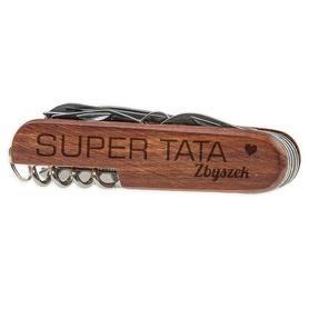 Scyzoryk drewniany dla Taty 06