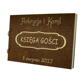 Album brązowy Księga Gości 08