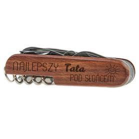 Scyzoryk drewniany dla Taty 10