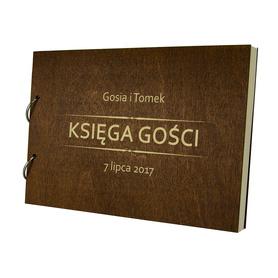 Album brązowy Księga Gości 18
