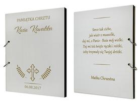 Album biały na Chrzest 01