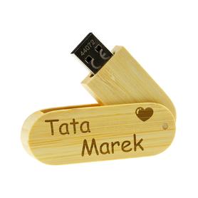 Pendrive drewniany dla Taty 01