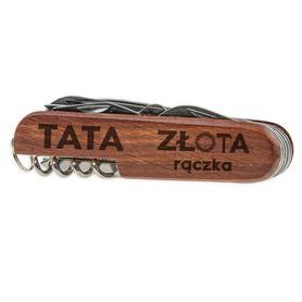 Scyzoryk drewniany dla Taty 01
