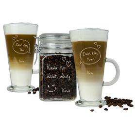 Słoik i 2 szklanki latte dla Rodziców 01