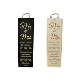 Skrzynka na wino na Ślub 02