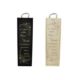 Skrzynka na wino na Ślub 09