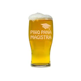 Szklanka do piwa dla Magistra 02