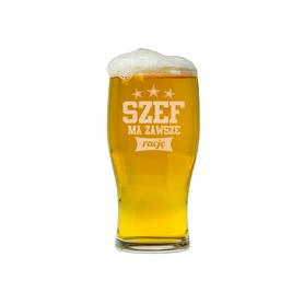 Szklanka do piwa dla Szefa 01