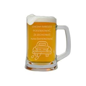 Kufel do piwa dla Świadka 07