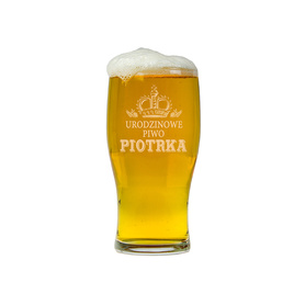 Szklanka do piwa na Urodziny 01