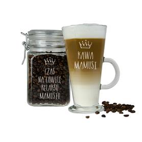 Słoik i szklanka latte dla Mamy 11