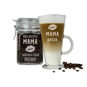 Słoik i szklanka latte dla Mamy 12