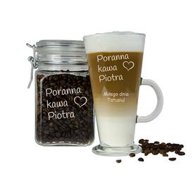 Słoik i szklanka latte dla Taty 02
