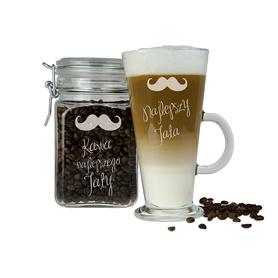 Słoik i szklanka latte dla Taty 07