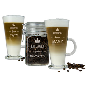 Słoik i 2 szklanki latte dla Rodziców 03