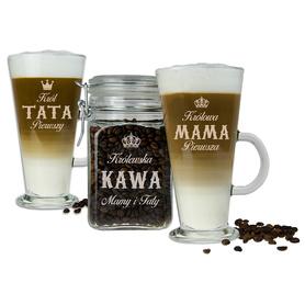 Słoik i 2 szklanki latte dla Rodziców 07