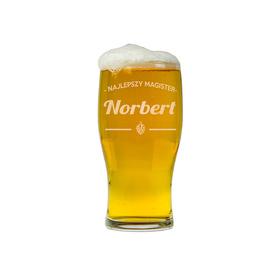 Szklanka do piwa dla Magistra 08