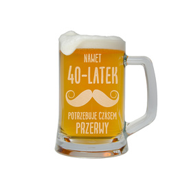 Kufel do piwa na Urodziny 20