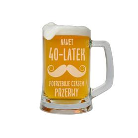 Kufel do piwa na Urodziny 21