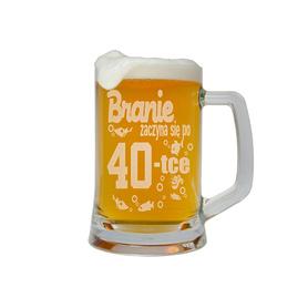 Kufel do piwa na Urodziny 23