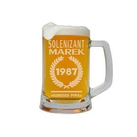 Kufel do piwa na Urodziny 25