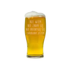 Szklanka do piwa dla Szefa 07