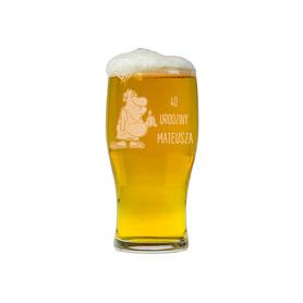 Szklanka do piwa na Urodziny 05