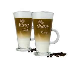 Komplet szklanek latte dla Pary 08