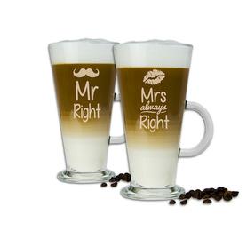 Komplet szklanek latte dla Pary 13