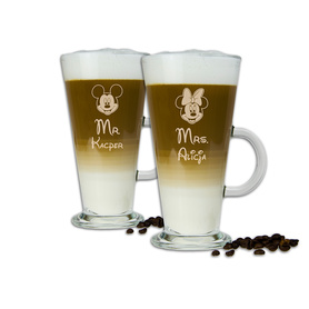 Komplet szklanek latte dla Pary 14