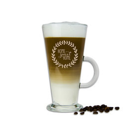 Szklanka latte z napisami 14