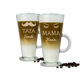 Komplet szklanek latte dla Rodziców 05