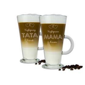 Komplet szklanek latte dla Rodziców 07