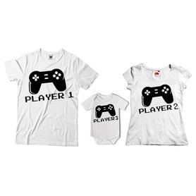 Komplet koszulek dla rodziców + body 04