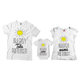 Komplet koszulek dla rodziców + body 07